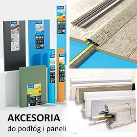 Akcesoria wykończeniowe - podkłady i listwy